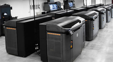The HP Jet Fusion 3D 4210 Printer