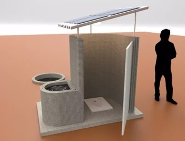 3D printed Toilets in Bihar Sample