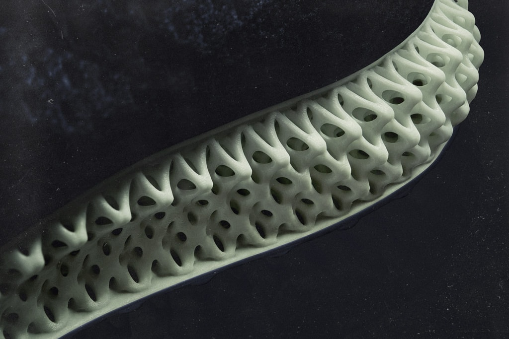 The Futurecraft 4D 3D printed midsole