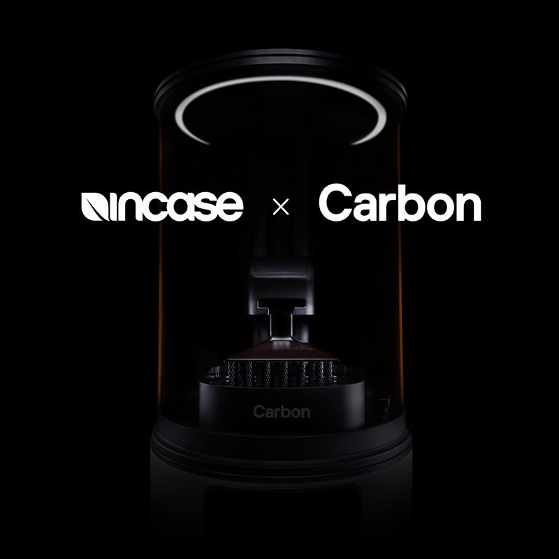 Partnering with Carbon, Incase will utilize Carbon's robust technology, materials and design properties to create custom materials built for durability and impact-absorption – materials not found in mobile device protection today