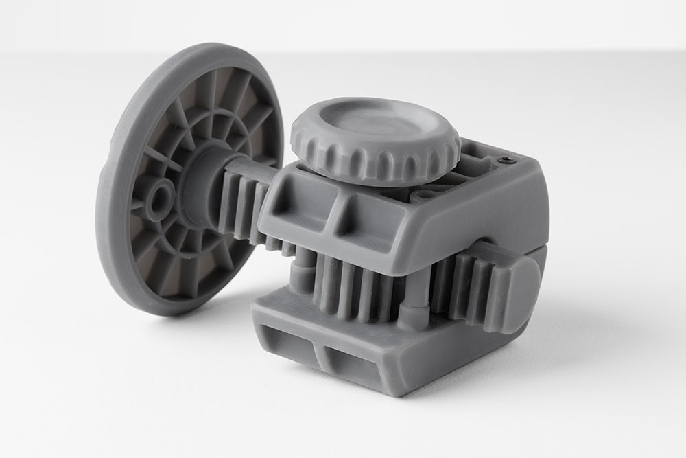 Functional sample printed from Grey Pro Resin Image Credit: Formlabs