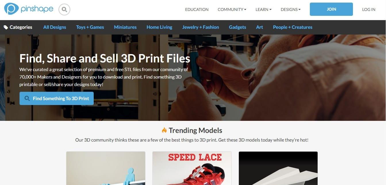 Free STL Files for 3D printing