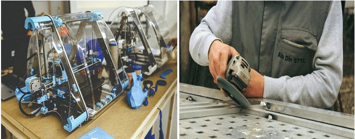 The Advantages of 3D printing over traditional manufacturing
