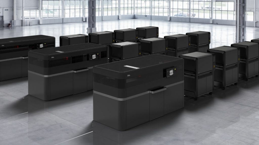 The Desktop Metal Production System designed for mass production