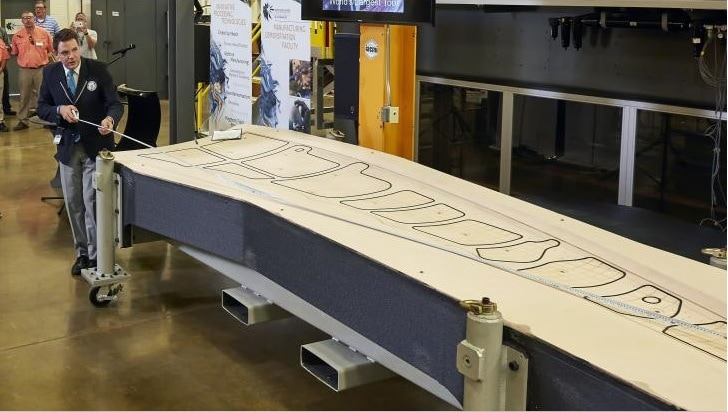 Trim Tool developed by ORNL & Boeing registered a Guinness World Record for the 'Largest solid 3D printed item'