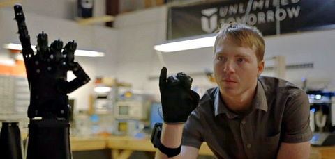 Easton LaChappelle delivering new age of custom-designed 3D printed prosthetic