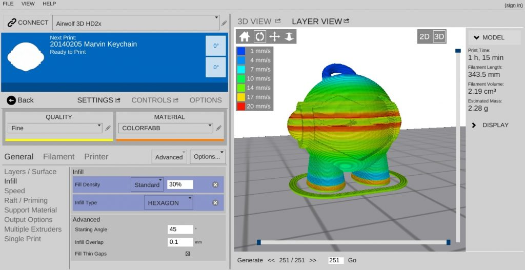 A list of best free slicing software for 3D printing