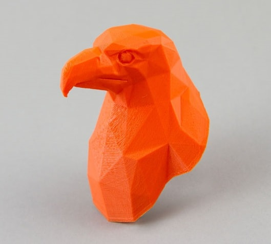 Eagle 3D Printed in PLA 3D Printing Material