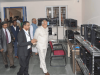 TN Governor Banwarilal Purohit inspecting the Rapid Prototyping Centre at FIRST
