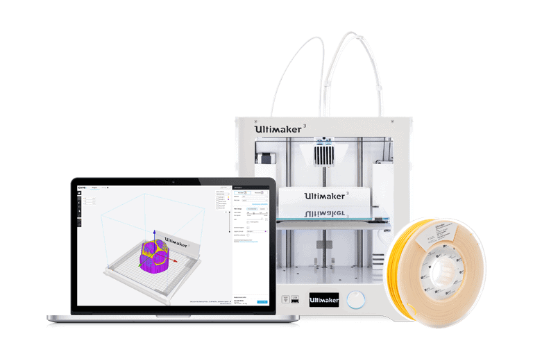 Cura software by Ultimaker