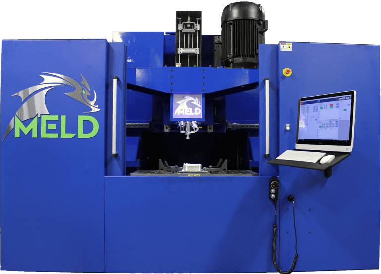 MELD Metal Additive Manufacturing Machine