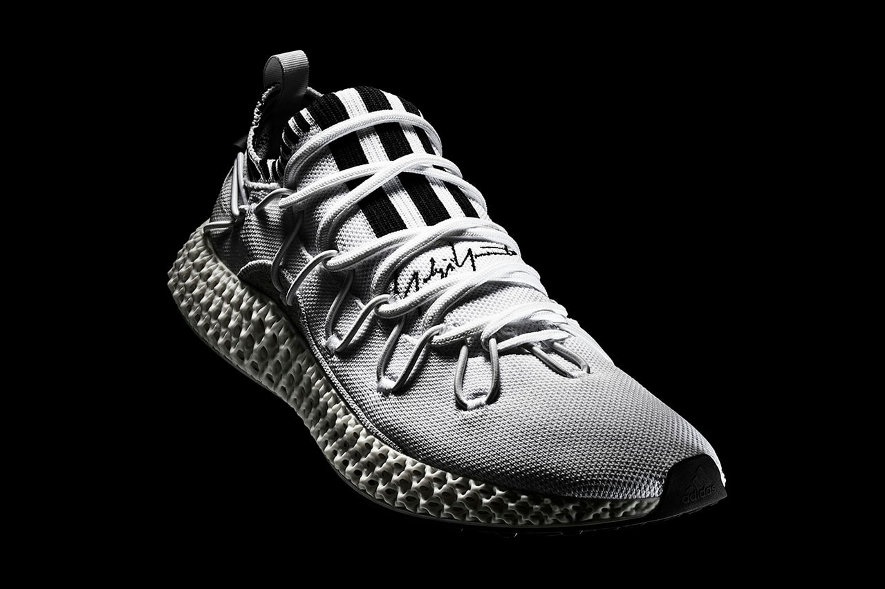 b5c5e1ad2dd03 Adidas Launches Bone White Y-3 Runner 4D II Sneakers designed by ...