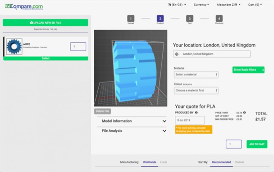 on-demand manufacturing platform
