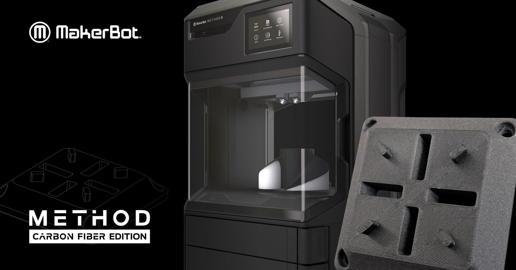 Carbon Fibre 3D Printer