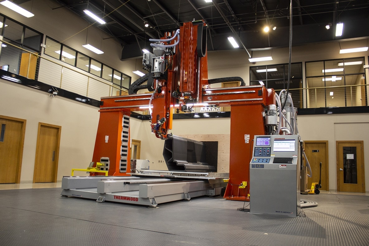 Large Scale Additive Manufacturing system