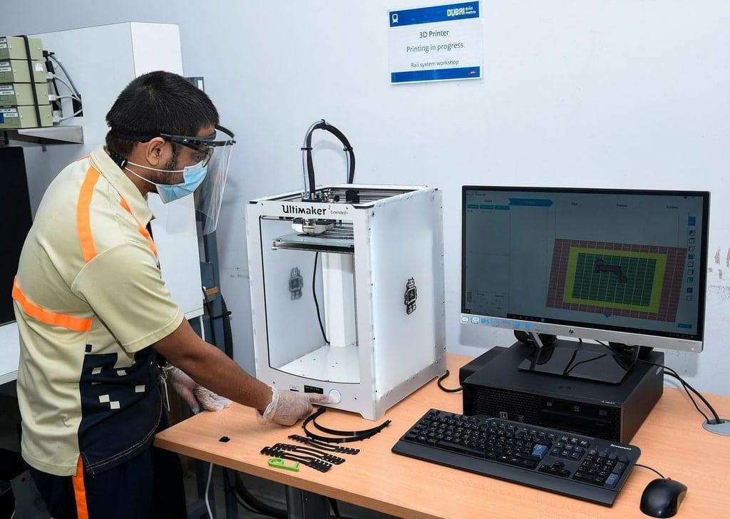 3D printed spares