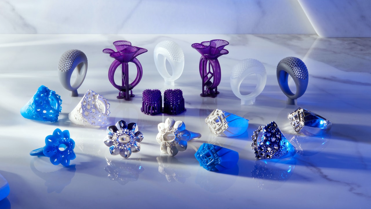 3D printing resins for jewellery