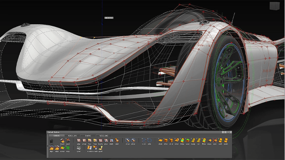CAD Modelling Software for automobile Applications