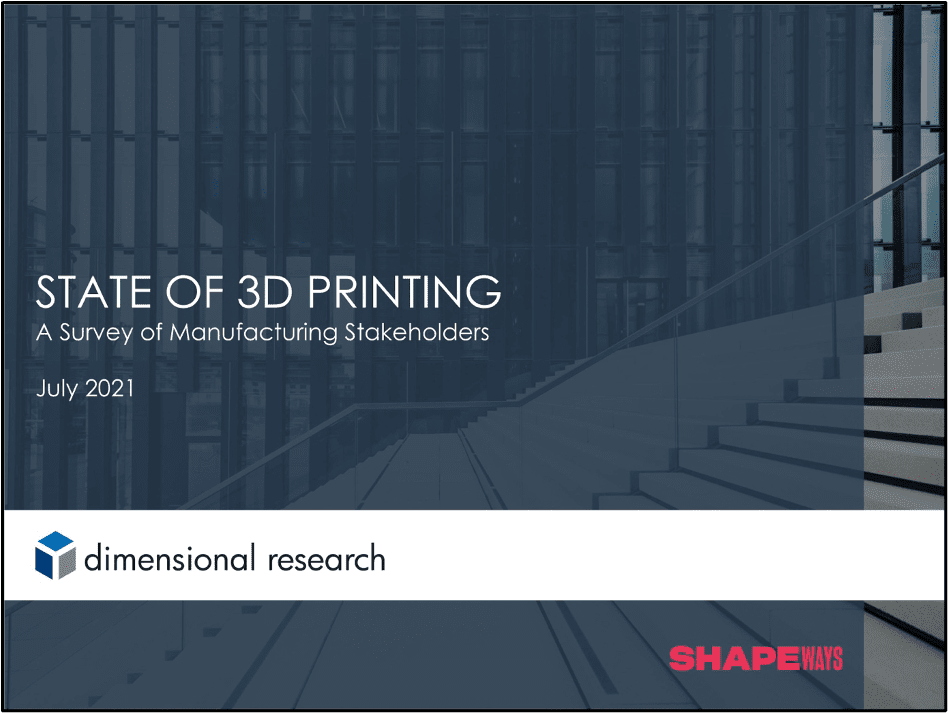 State of 3D Printing survey