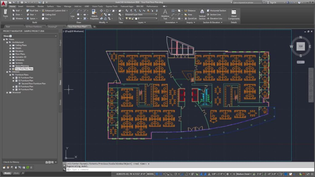 architectural CAD modelling software