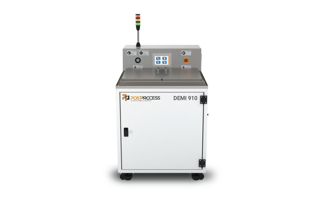 automated resin removal system